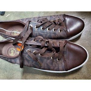 Michael Kors Women's Brown Sneakers